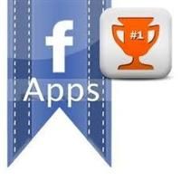 Social gamification app - facebook game logo